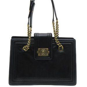 Authentic Boy Chain Shoulder Bag